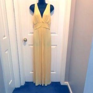 IMAN Global Chic Grecian Goddess Maxi Dress